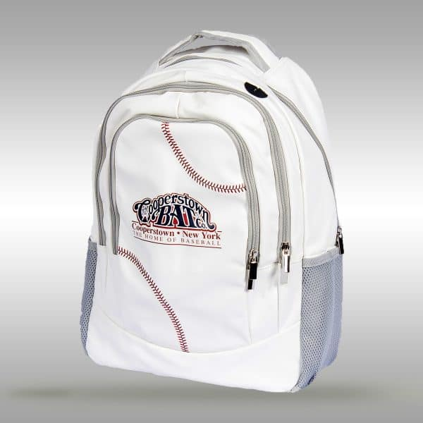 Baseball Backpack - baseball stitches