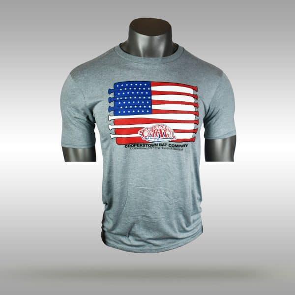 Cooperstown Original Bat Flag T-shirt