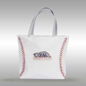 Baseball Leather Tote Handbag-Purse Bag