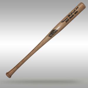 "18"" miniature baseball trophy bat"