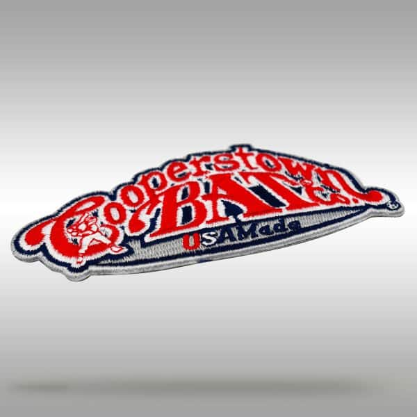 Cooperstown Bat USA Made Patch