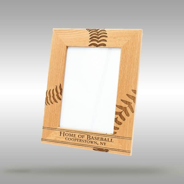 Cooperstown Home of Baseball Frame - 5x7 Vertical
