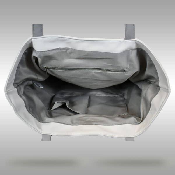 Baseball Leather Tote Bag