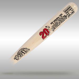 The Mike Schmidt Custom Baseball HOF Stats Bat