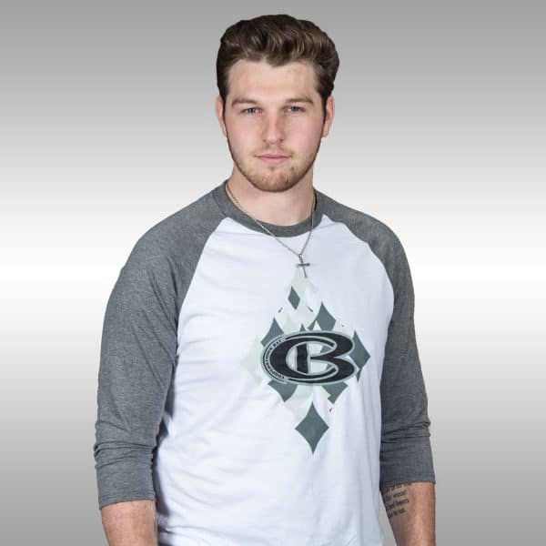 Cooperstown Diamond 3/4 Sleeve Baseball Shirt