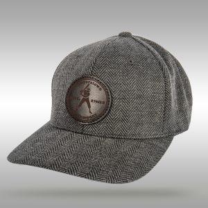 1981 Leather Patch - Herringbone Stitch Cap