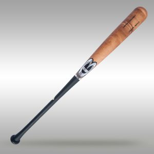 CBRC24 - Pro Maple Wood Baseball Bat: Flat Pecan/Flat Black-Full