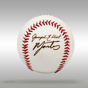 Engraved Signature Baseball