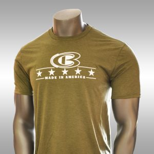 CB 5-Star Made in America military green t-shirt - Cooperstown Bat