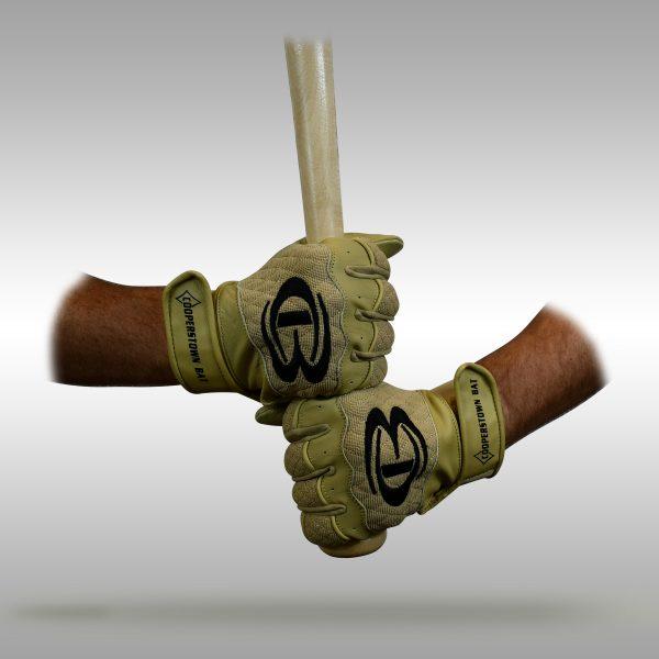 Cooperstown Bat Tan Work Batting Gloves