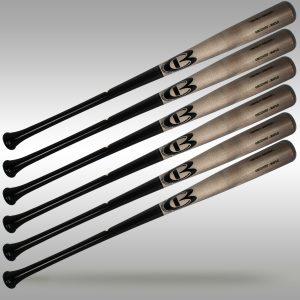 Cooperstown Bat Pro Cut Bats - pro wood bats - 6 bat bundle