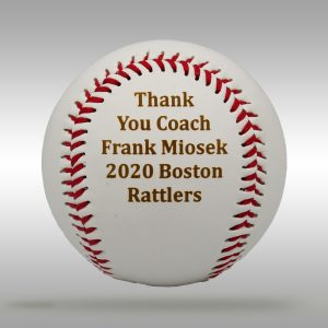 Custom Engraved Coach - Assistant Coach Gift - Baseball