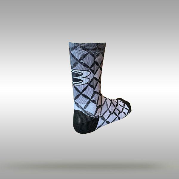 Cooperstown Bat CB Diamond Crew Socks