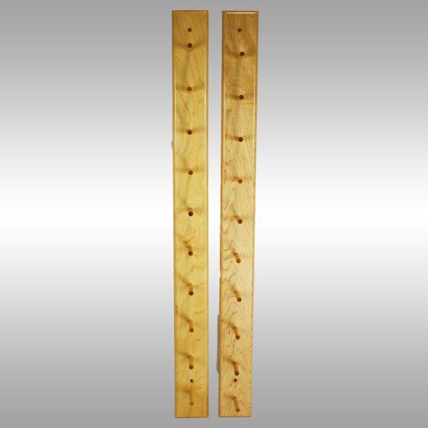 Baseball Bat Display Rack–10 Bat Peg Style