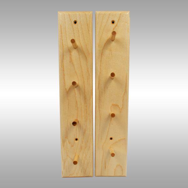 Baseball Bat Display Rack–4 Bat Peg Rack