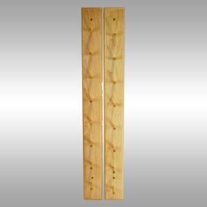 Baseball Bat Display Rack–8 Bat Peg Style