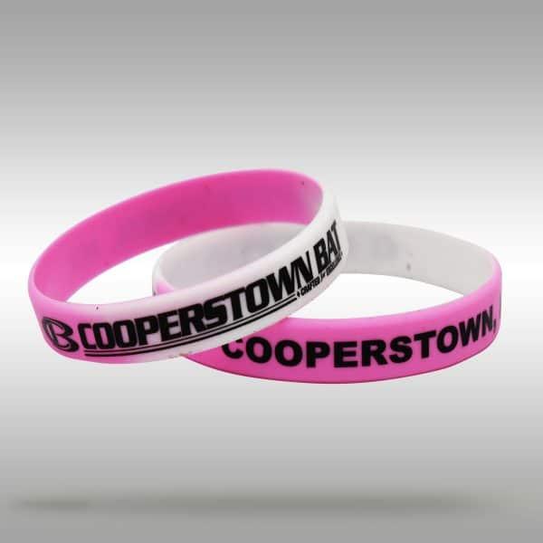 CB Logo Wrist band - bracelet - pink