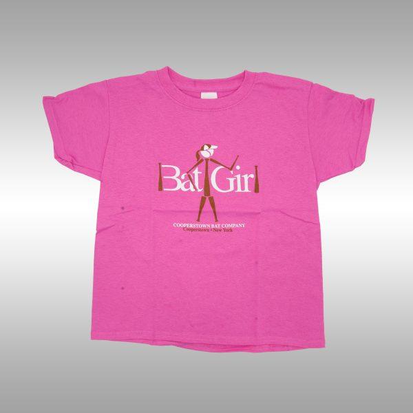 Cooperstown Bat - Youth Bat Girl T-shirt