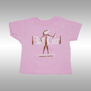 Cooperstown Bat - Bat Girl Graphic T-shirt for Toddler