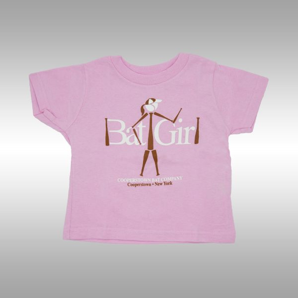 Cooperstown Bat - Bat Girl Graphic T-shirt for Toddler